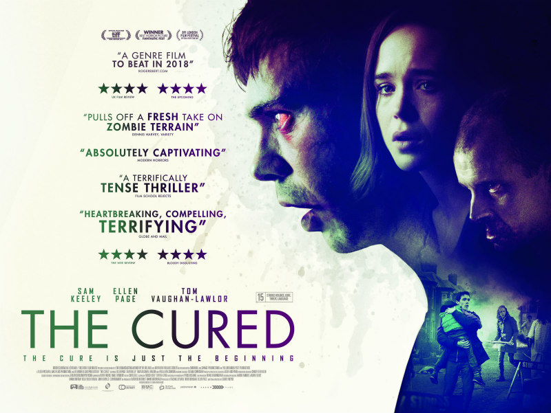 the cured uk quad poster