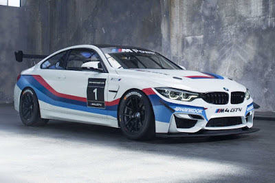 BMW M4 GT4 2018 Front Side