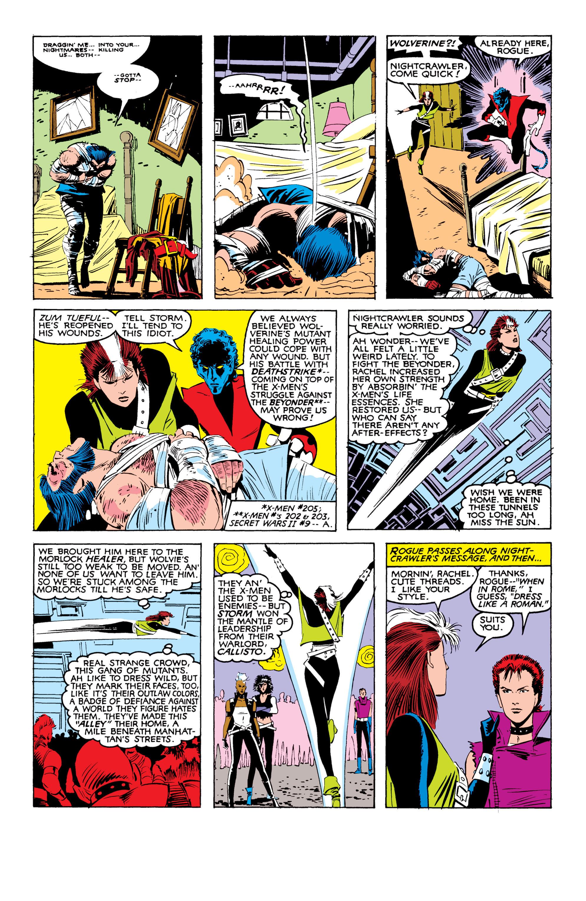 Read online Uncanny X-Men (1963) comic -  Issue #207 - 9