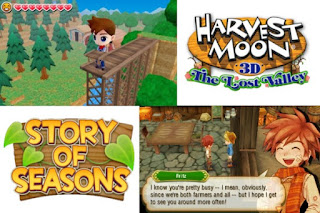 Harvest Moon and Story of Seasons