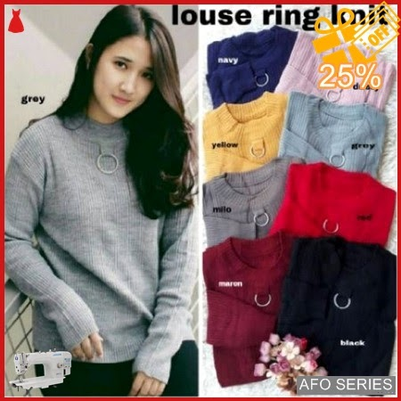 AFO573 Model Fashion Louse Ring Knit LD 96 Murah BMGShop