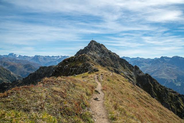 Gipfelweg Zamangspitze  Wandern Silvretta-Montafon  Vorarlberg 12