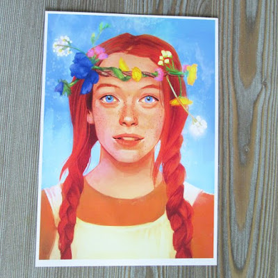 Anne with an E Amybeth McNulty Art Print