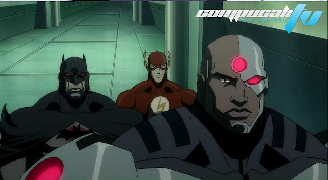 Justice League The Flashpoint Paradox 1080p HD Latino
