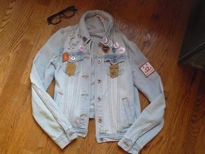 denim bullhead pacsun jean jacket