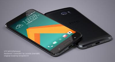 HTC 10 sau khi đã được thay màn hình