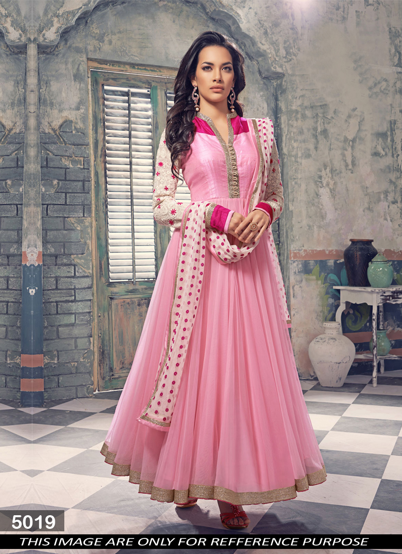 98c698fe320 Pretty Lady - Very Beautiful And Charming Designer Anarkali Suit ...