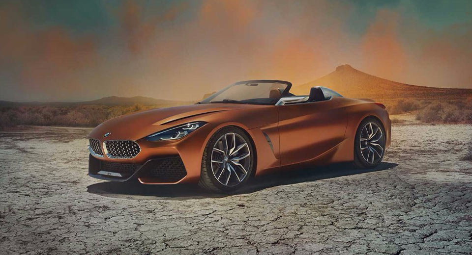 BMW continues new design language with the Concept Z4