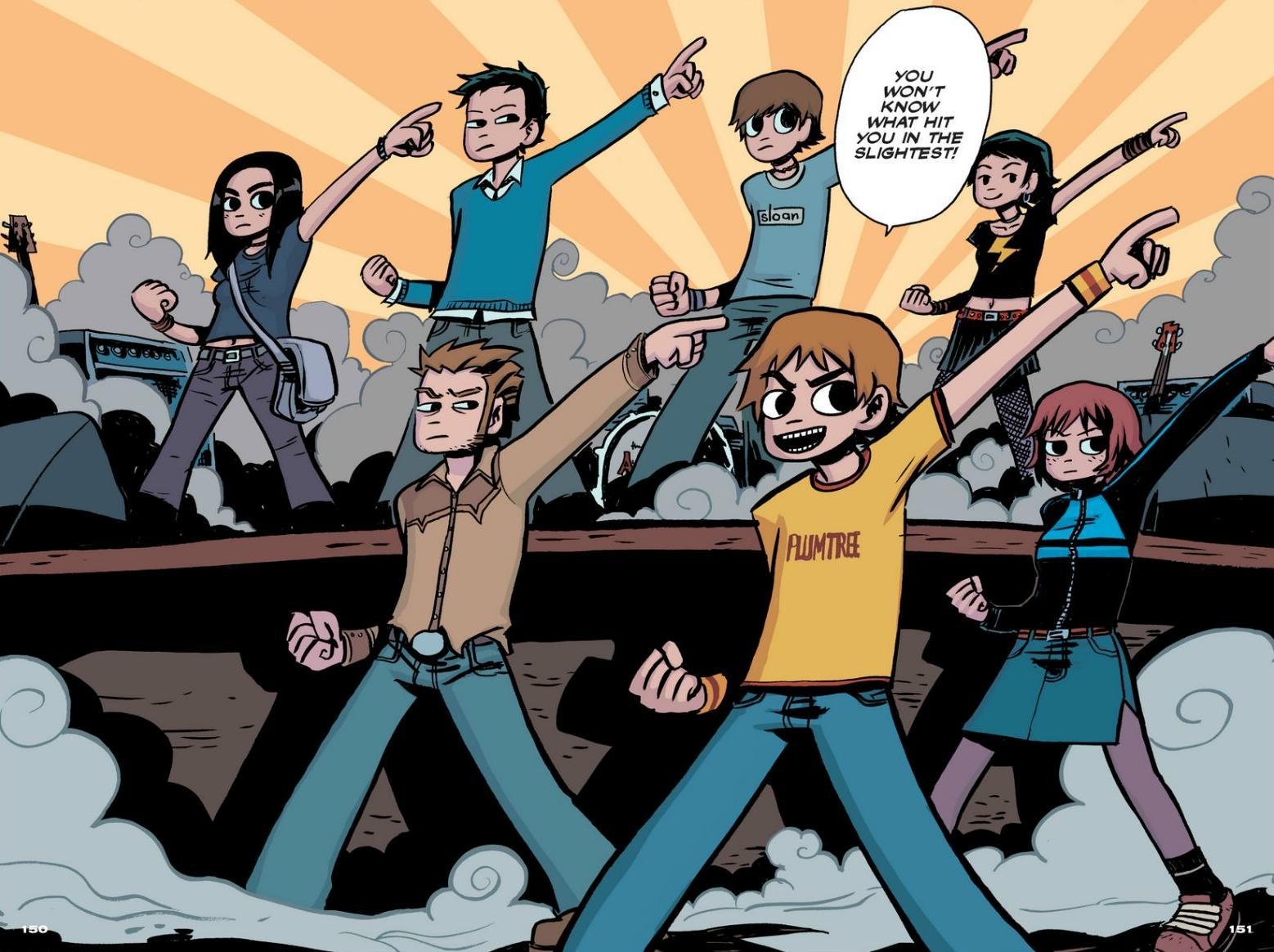 Read online Scott Pilgrim comic -  Issue #1 - 137