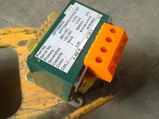 Alat dan bahan untuk membuat rangkaian kontrol Trafo