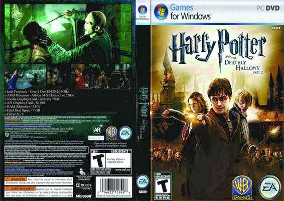 Image result for harry potter and deathly hallows part 2  pc game pack