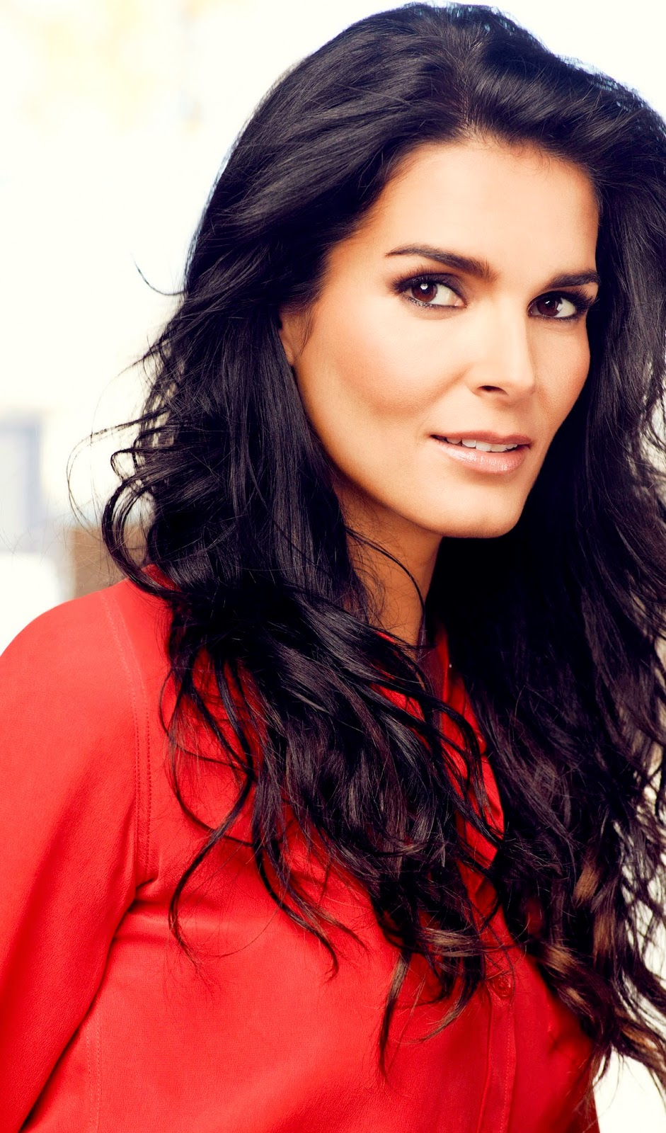 Angie Harmon At More Magazine September 2013: The Latest Celebrity Picture: Angie Harmon