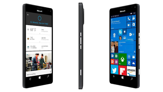 New Lumia 950 XL , featuring a 5.7-inch display