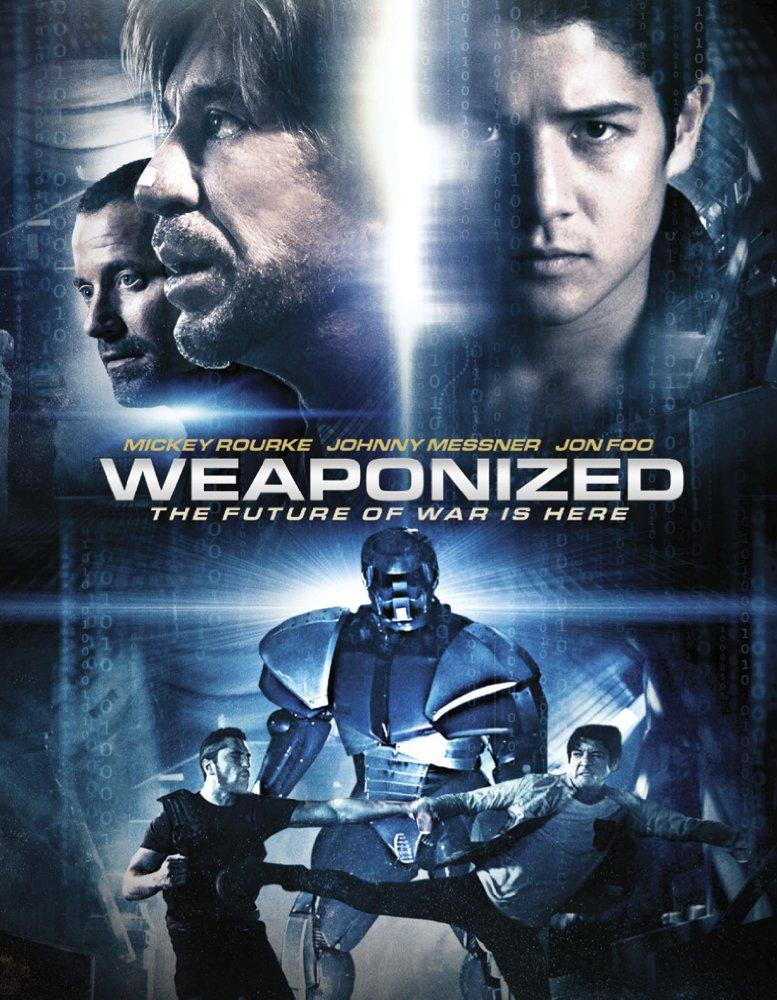 Weaponized [2016] [DVDR] [NTSC] [Latino]