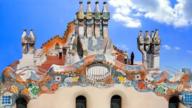 Casa Battló em Barcelona
