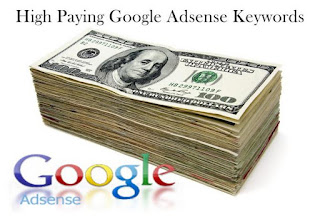 high google adsense paying keywords