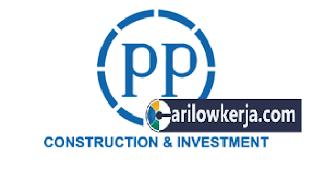 INFO Lowongan Kerja BUMN Terbaru Januari 2017 Untuk PT.PP