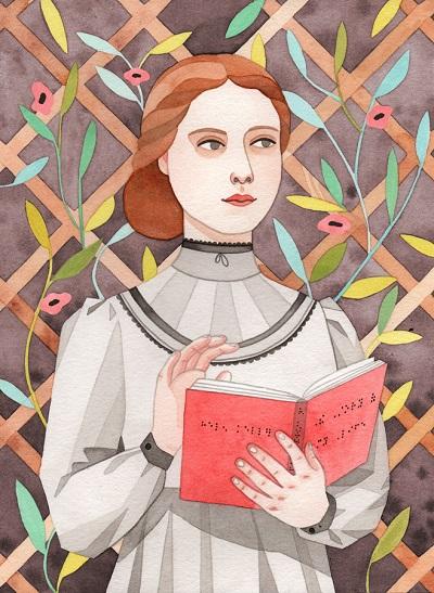 por Monica Garwood, Helen Keller.