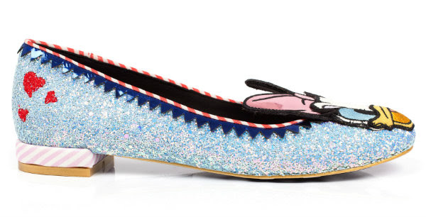 irregular choice donald daisy duck preview shoes