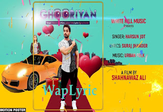 Ghooriyan Song Lyrics