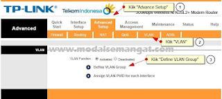Setting VLAN Group
