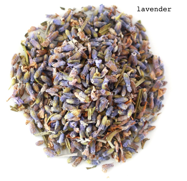 herbal lavender tea to treat migraines and sleepless nights