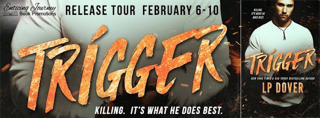 Trigger by LP Dover Release Blitz + Giveaway