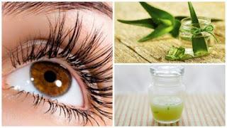 Renforcer et allonger les cils avec ce traitement d'aloe vera et de vitamine E