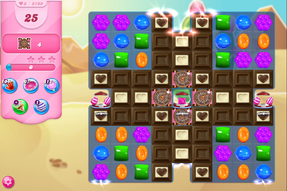 Candy Crush Saga level 5168