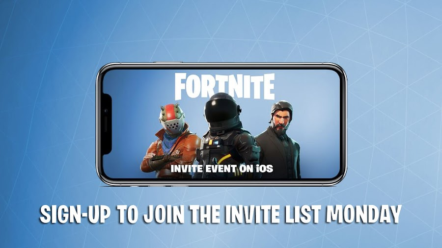 fortnite battle royale ios event