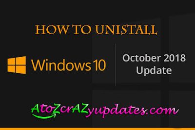 windows-10-October-uninstall