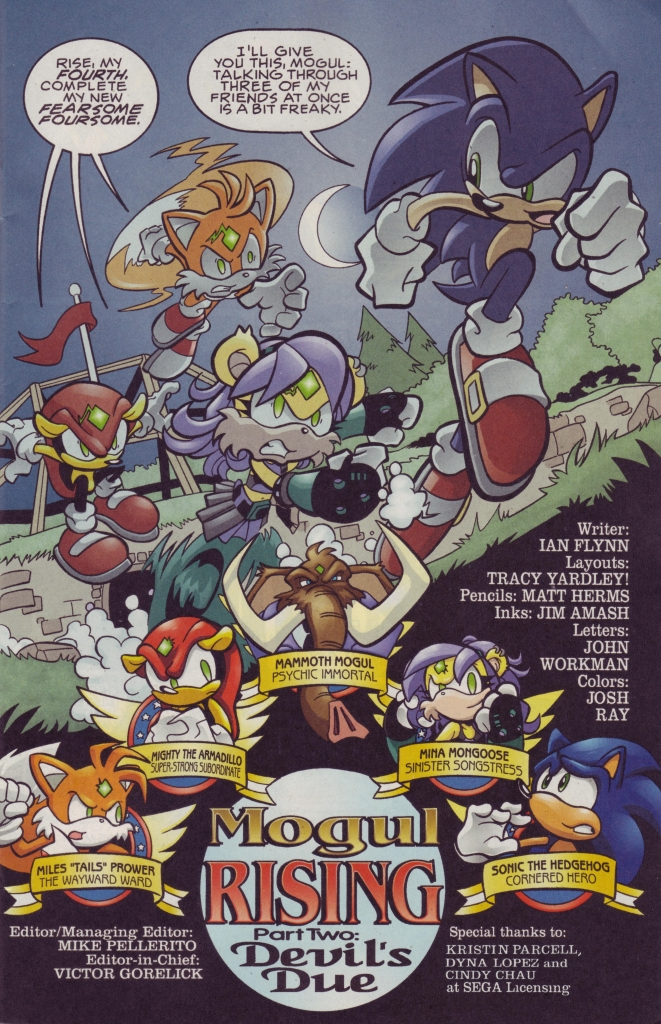Comic Sonic The Hedgehog (1993) issue 186