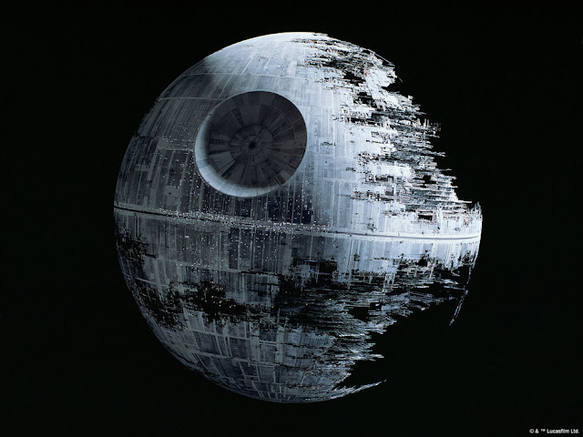 Star Wars Tapetti Death Star