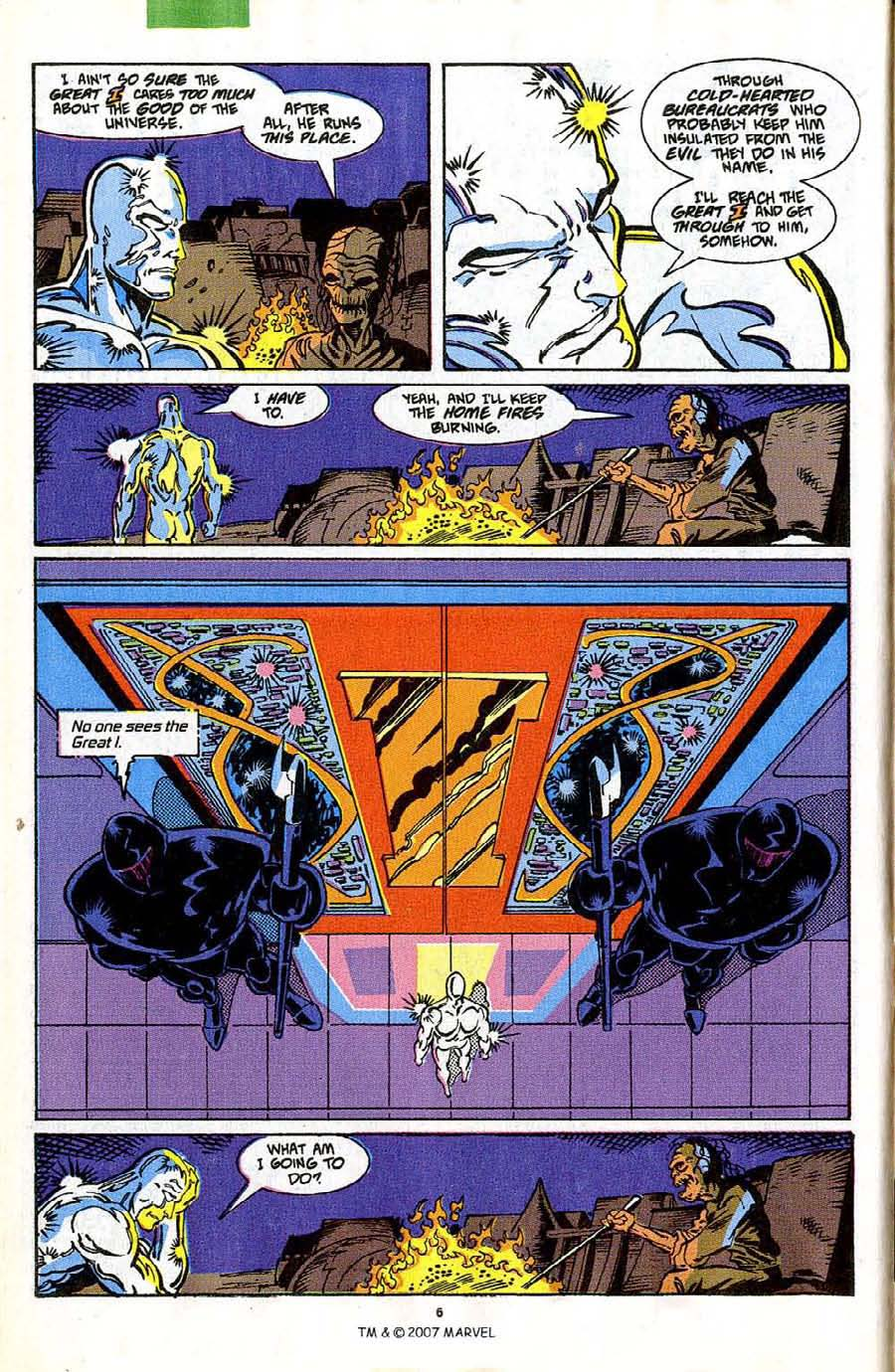 Read online Silver Surfer (1987) comic -  Issue #42 - 8