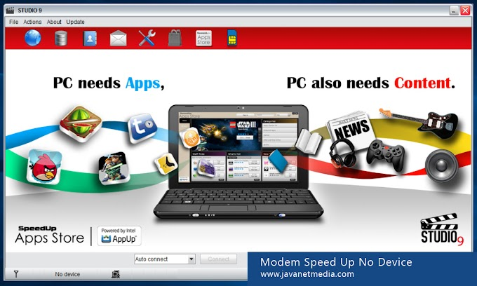 Mengatasi Problem No Device Modem Speed Up di Windows 10