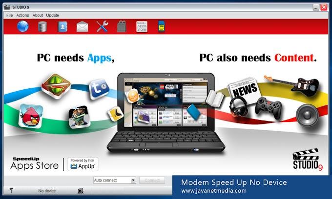 Mengatasi Problem No Device Modem Speed Up di Windows 10