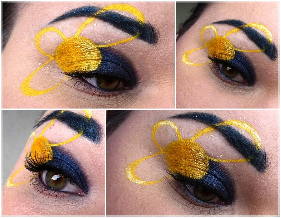 Sailor Uranus eye make up