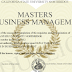 MBA-Master in Business management
