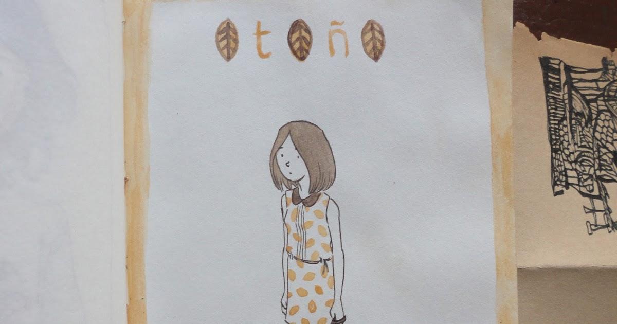 De Dibujo En Dibujo Estrenando Libreta: Maco: Otoño