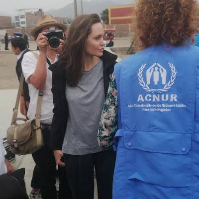 Angelina Jolie y los mejores memes tras su visita al Perú