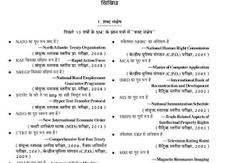 Important GK MCQs Hindi