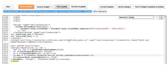 My Blogger Lab: How to Fix XML Parsing Errors in Blogger
