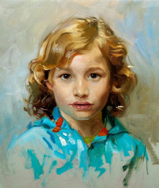 Portrait of Boy, Ben Lustenhouwer, International Art Gallery, Self Portrait, Art Gallery, Ben Lustenhouwer, Portraits of Painters, Fine arts, Self-Portraits, Painter Ben Lustenhouwer