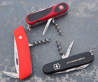 Schweizer Messer Korkenzieher