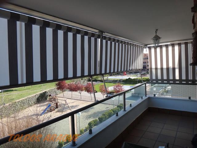 Empresa Toldos en Madrid toldos instaladores Araque Instalación de 4 toldos Stor en Pinto Trabajos realizados