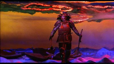Tatsuya Nakadai in Kagemusha, The Famous Dream Sequence, Directed by Akira Kurosawa