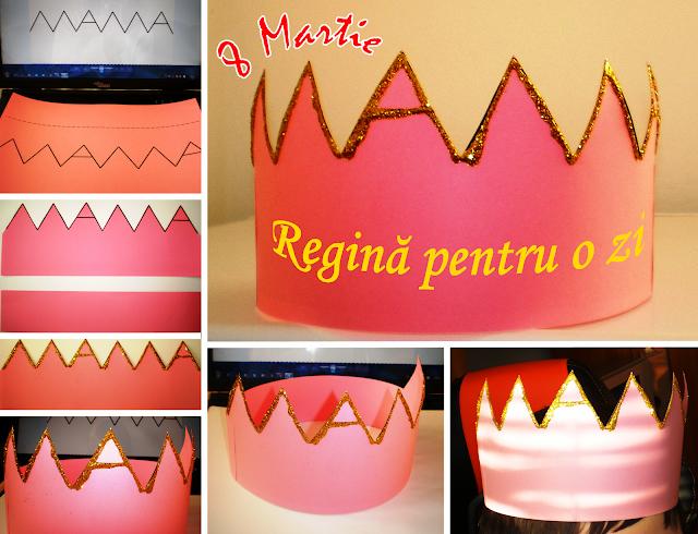 coroana mamei 8 martie ziua femeii ziua mamei regină pentru o zi
