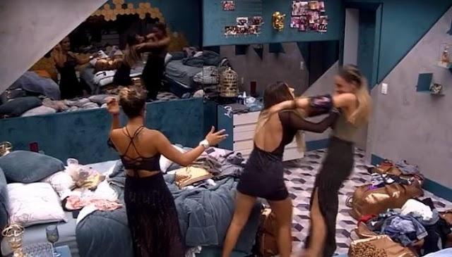 EXPULSÂO: Briga de Hariany e Paula esta em análise