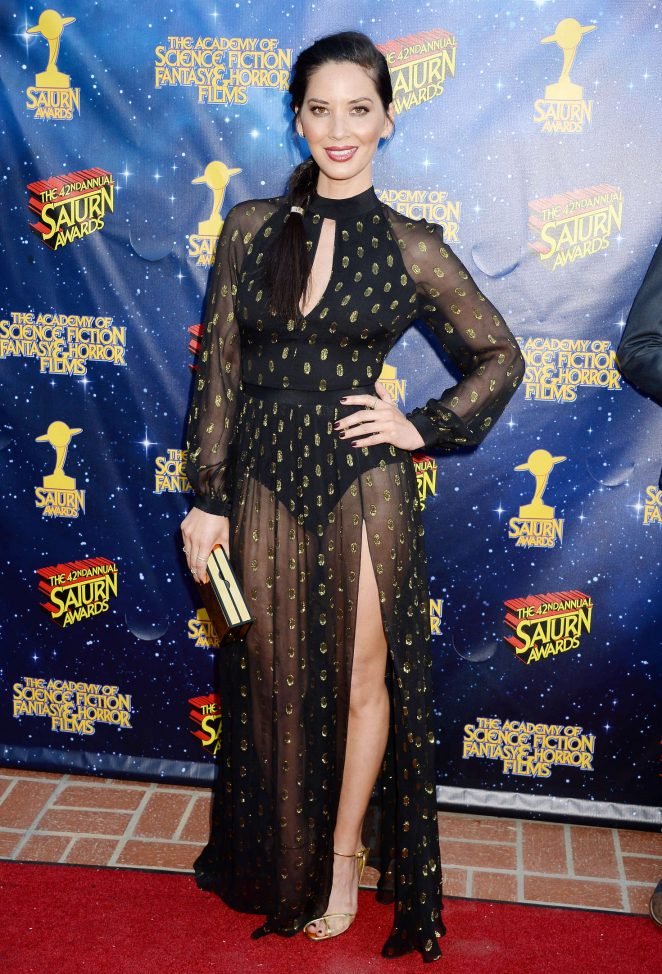 Olivia Munn – 42nd Annual Saturn Awards in Burbank